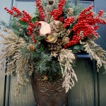 Easy Winter Arrangement!