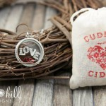 Love locket from South Hill Designs