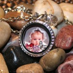 personalized baby locket