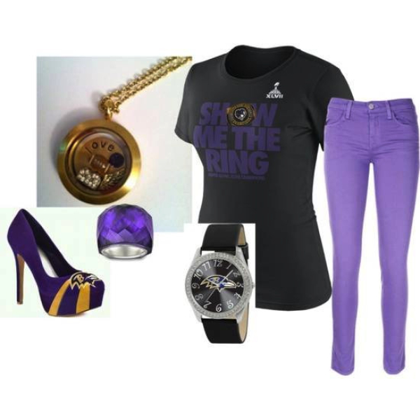 Fashion football lockeet and accessories from South Hill Designs