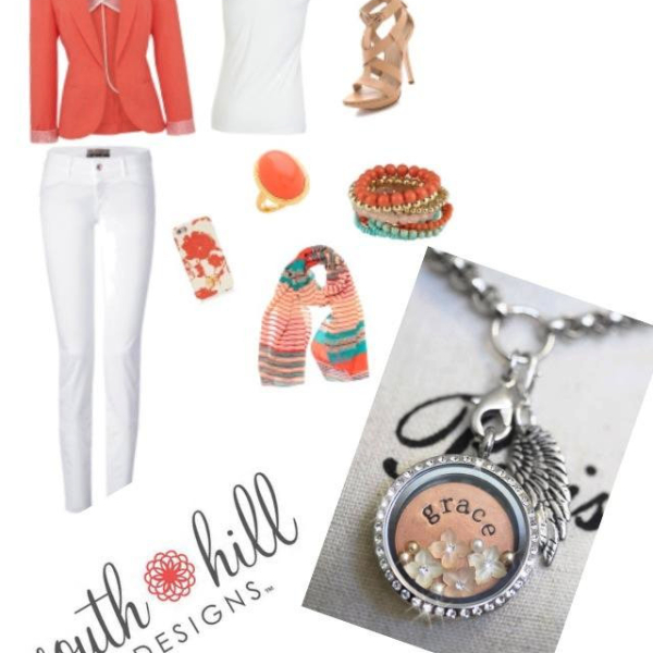 Fashion grace locket with accessories from South Hill Designs