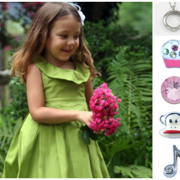 Fashion little girl locket and accessories from South Hill Designs