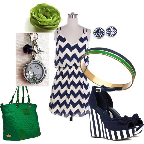 Fashion mom silver studded locket and accessories from South Hill Designs