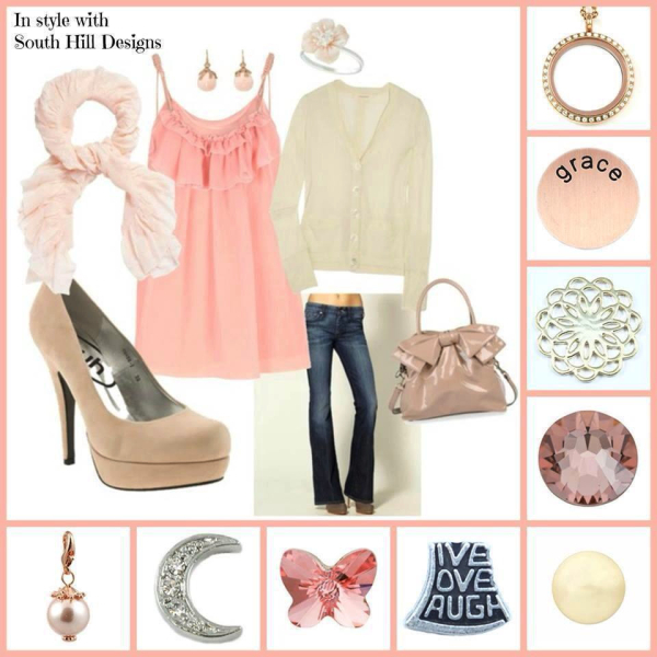 Fashion peack locket and accessories from South Hill Designs