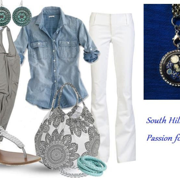 Fashion Southwest chic locket accessories from South Hill Designs