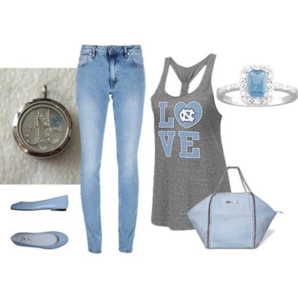 Fashion UNC locket and accessories from South Hill Designs