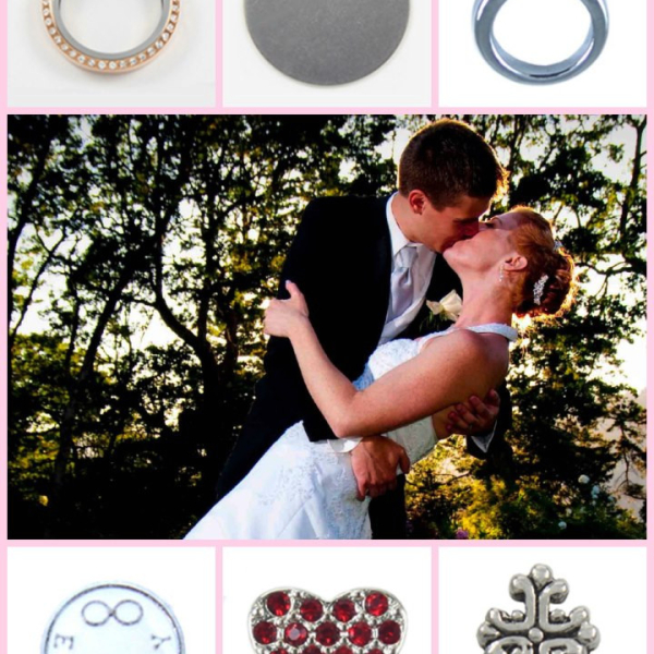 Fashion wedding locket and accessories from South Hill Designs