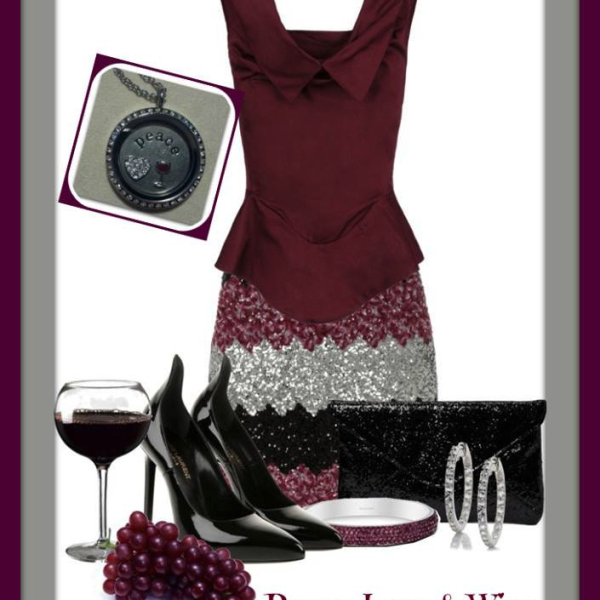 Fashion wine party outfit from South Hill Designs